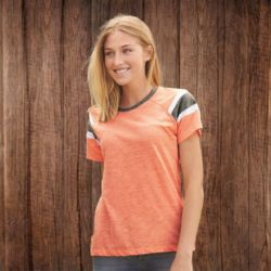3011 Women's Short Sleeve Fanatic T-Shirt Thumbnail